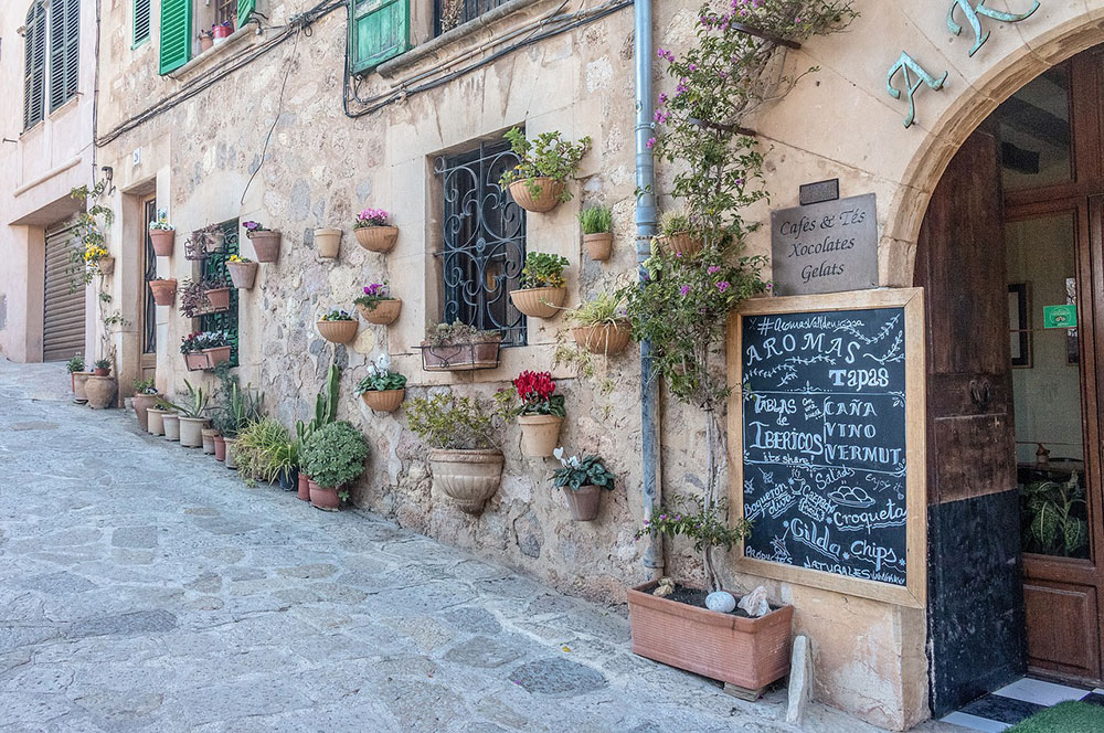 valldemossa in Mallorca, Spain