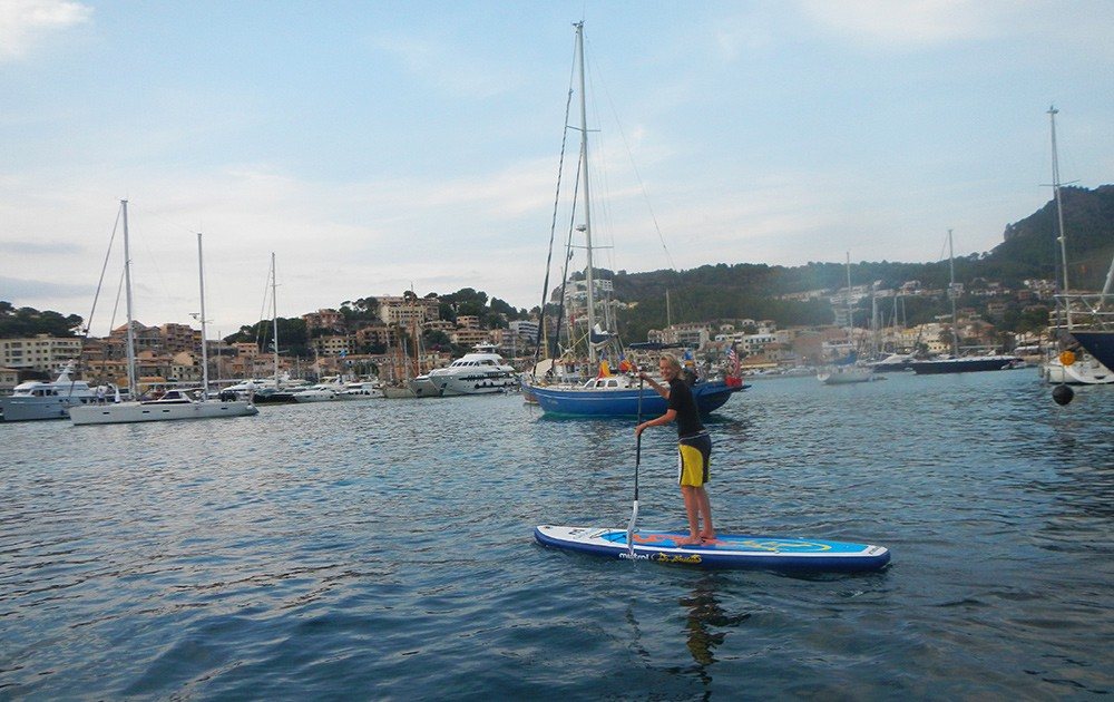 paddle boarding in Soller, Mallorca - What to do in Soller