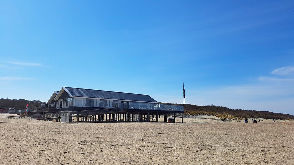 Renesse's beach, Zeeland, the Netherlands