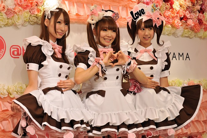 Japan fun facts: maid cafes