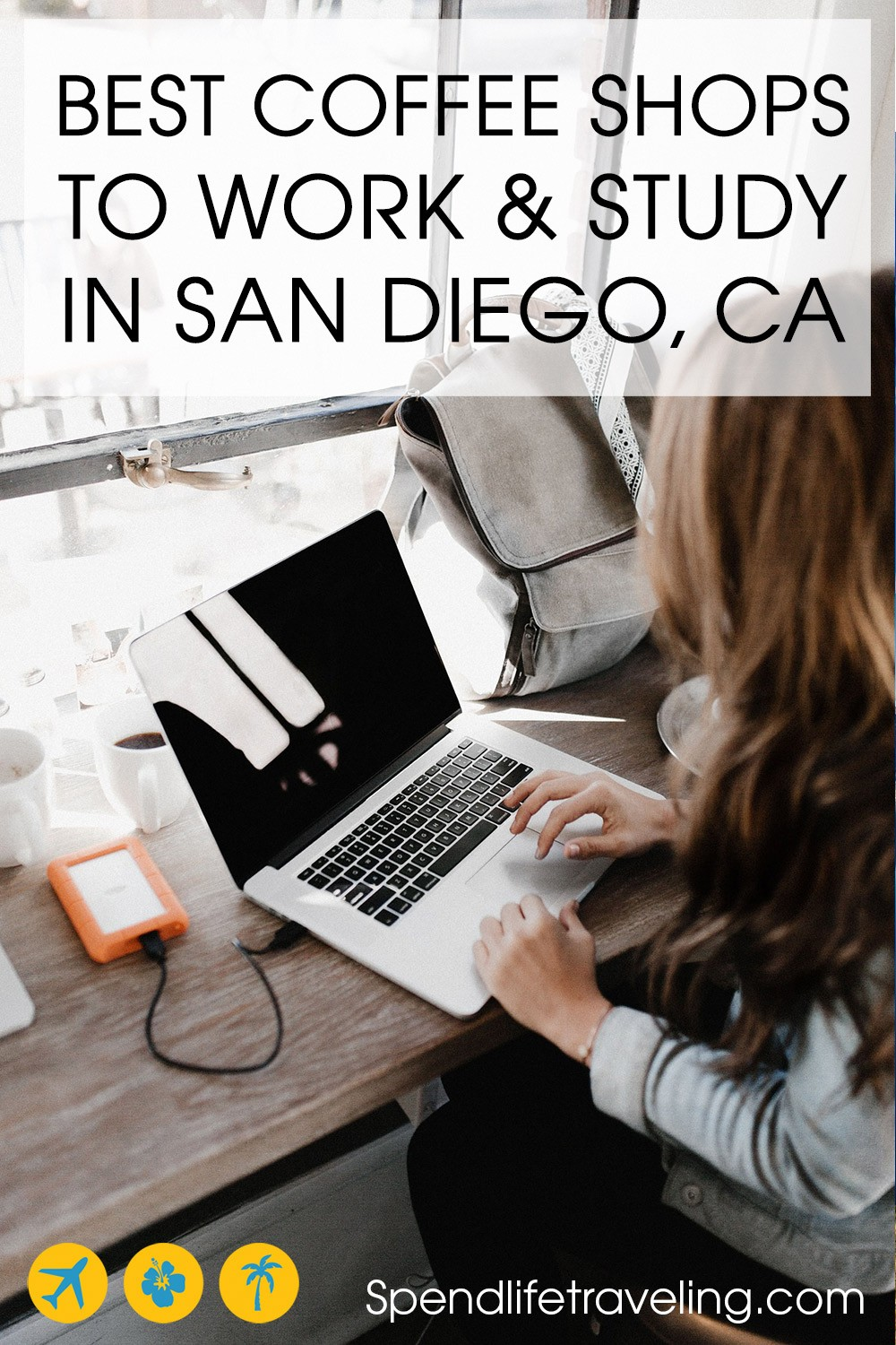 8 Best Coffee Shops To Work / Study in San Diego. Do you need to get some work done or are you looking for places to study in San Diego? Don't settle for a Starbucks, check out these great coffee shops in San Diego with good coffee and wifi that make great locations for working or studying! #SanDiego #digitalnomad #workremotely #workonline
