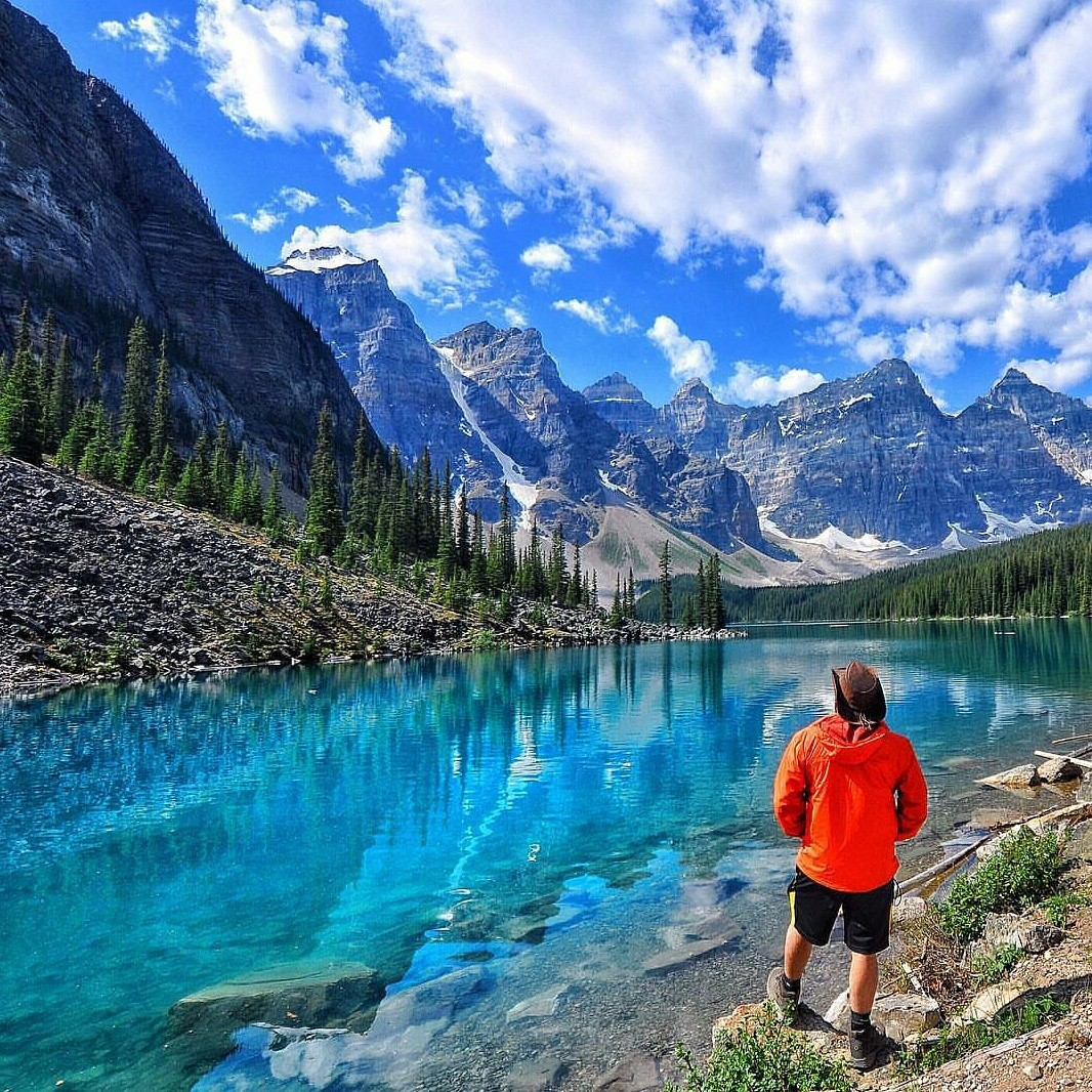 Where to travel to next: Moraine Lake, Alberta, Canada