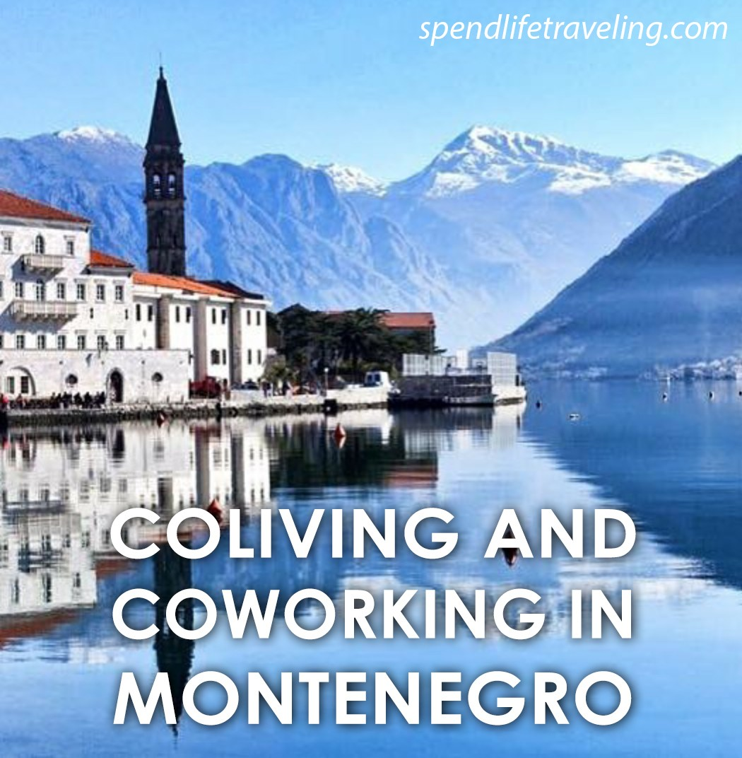 #Coliving and #coworking in #Montenegro. A great option for digital nomads