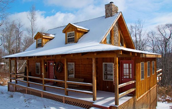 What to do on a weekend trip to Big Bear Lake - rent a cabin