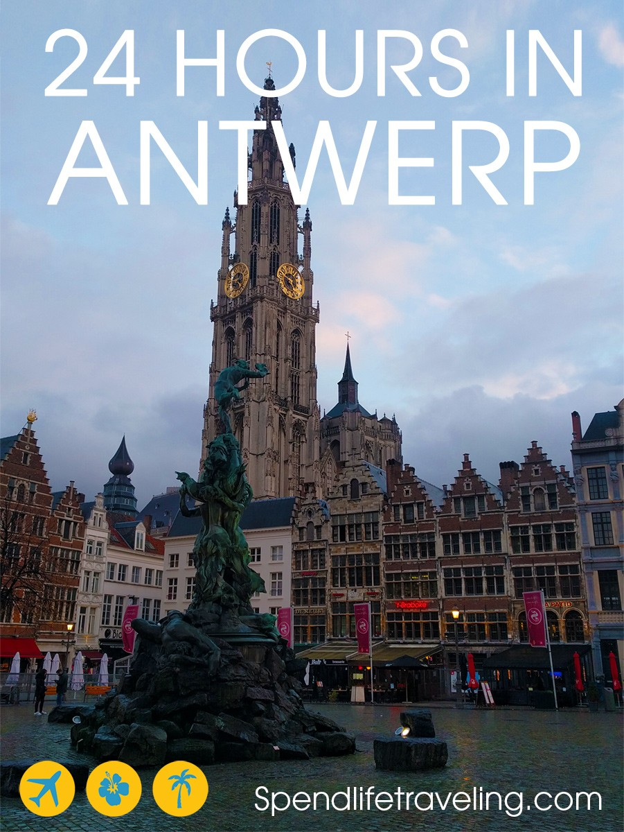 #Antwerp is a beautiful city in #Belgium. It's also a compact city that can easily be explored in one or two days. This is a practical guide for what to do in Antwerp in one day. #citybreak #Europeancities #visitEurope