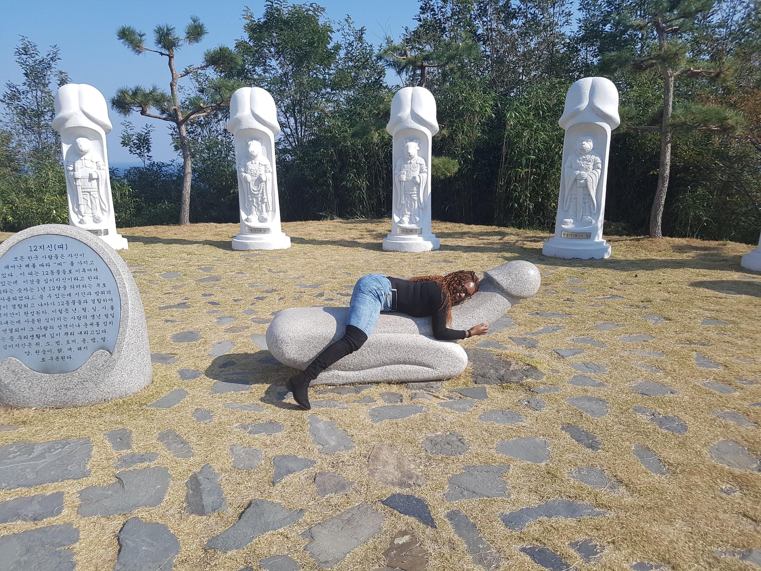 Haesindang Park - fun things to do in South Korea