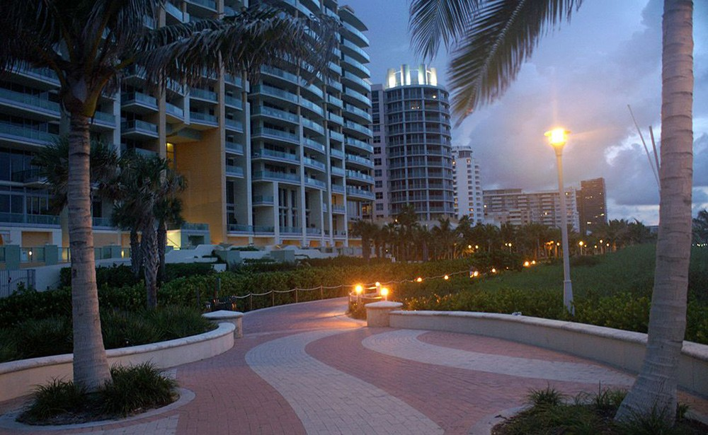 Miami South Beach boardwalk