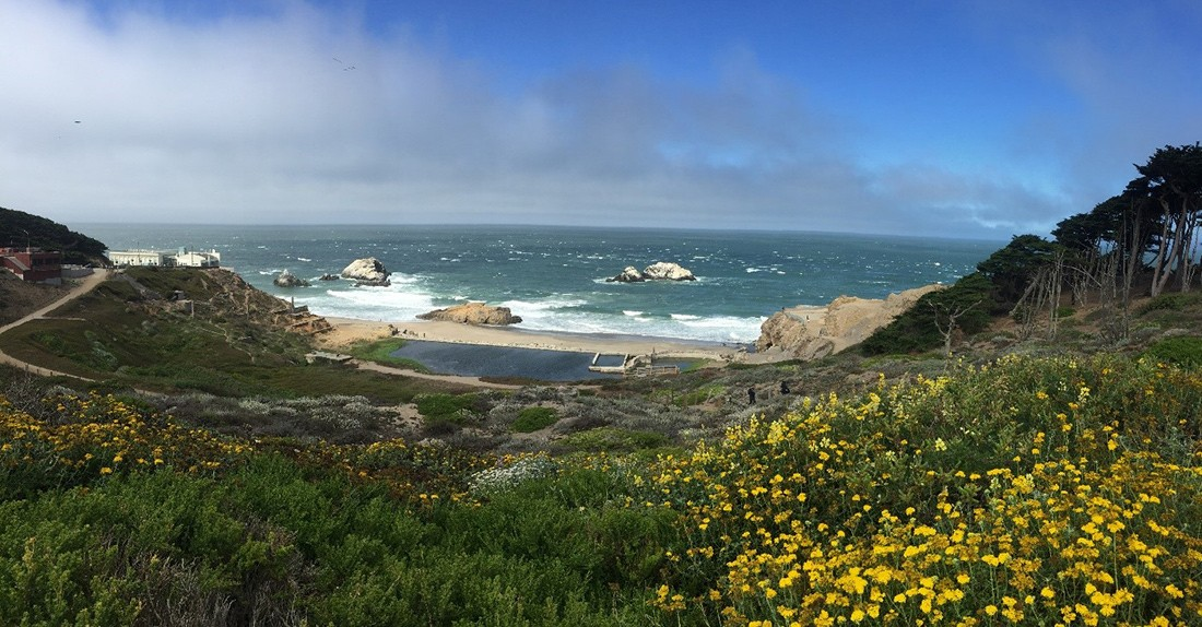 San Francisco must see places: Sutro Baths