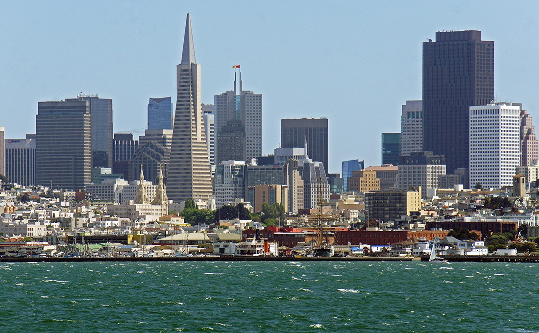 San Francisco must see: Transamerica Pyramid