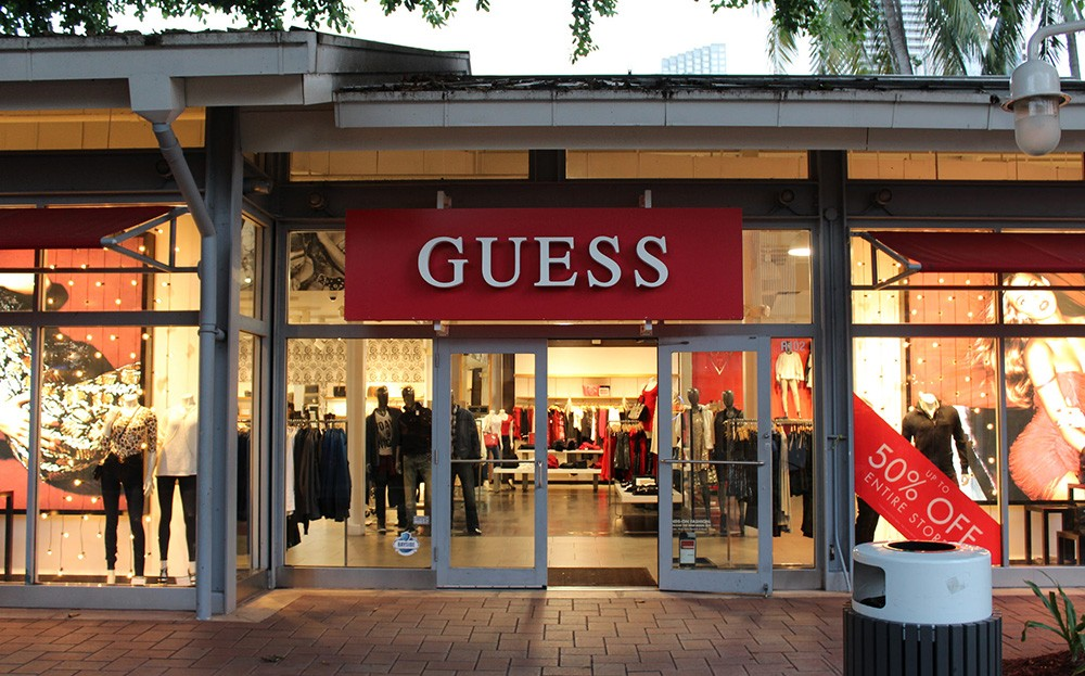 shopping in Miami, Florida, USA