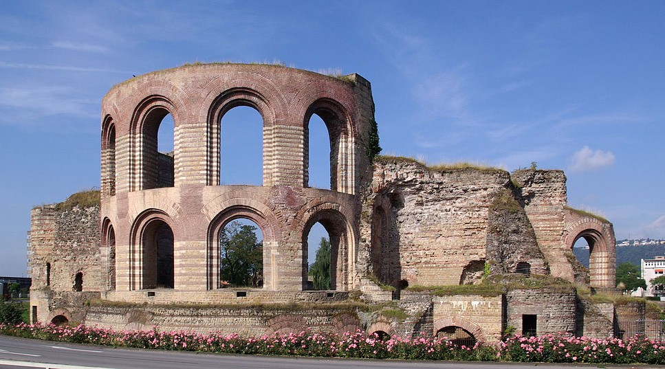 Imperial baths, a must when you visit Trier, Germany
