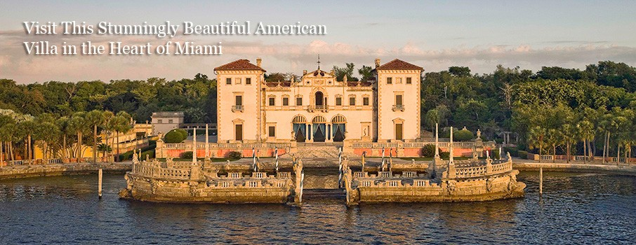 Vizcaya villa in Miami - one of the best things to do in Mainland Miami