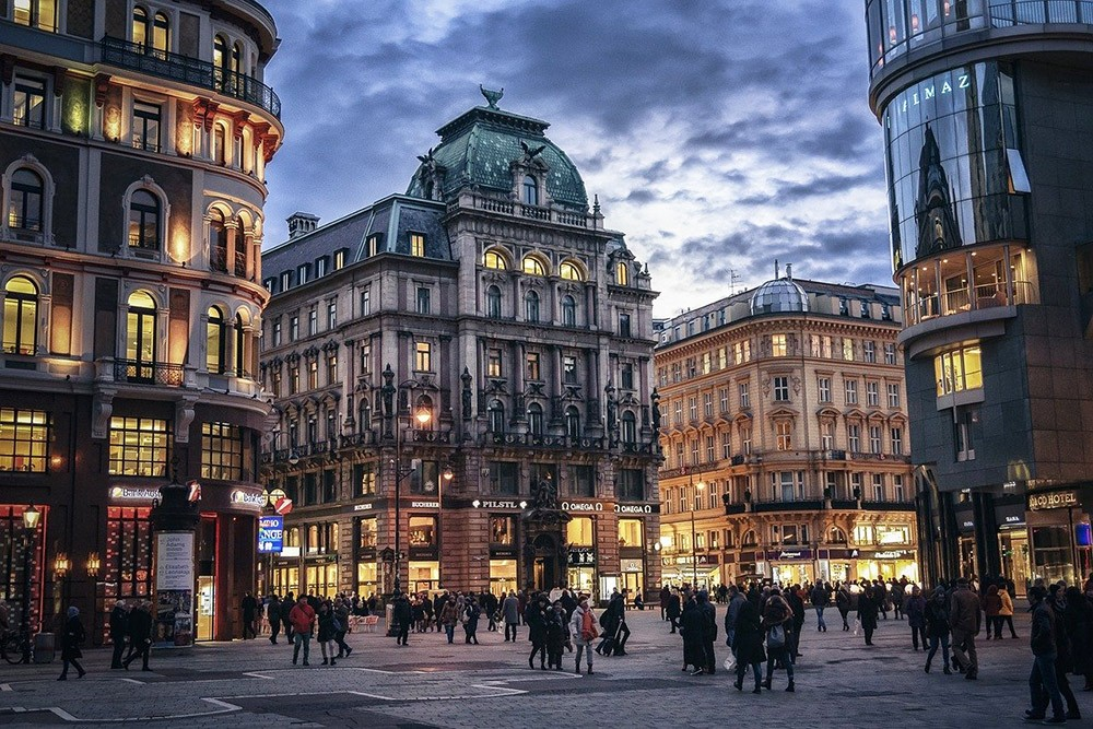 living in Vienna