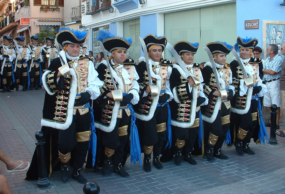 Things to do in Moraira: Moros y Cristianos