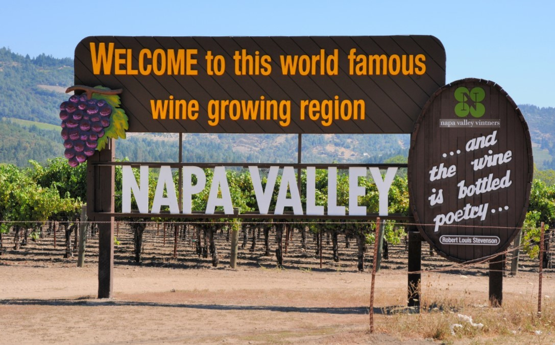 camping spots in California: Napa Valley