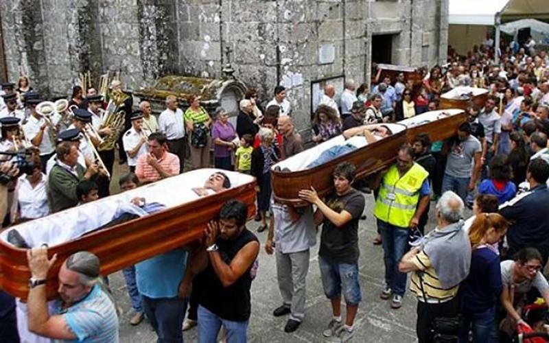 near-death experience festival in Spain