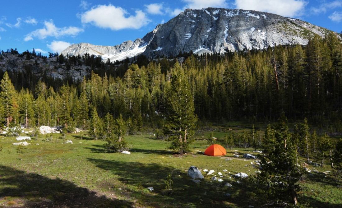 Camping spots in California: Yosemite National Park