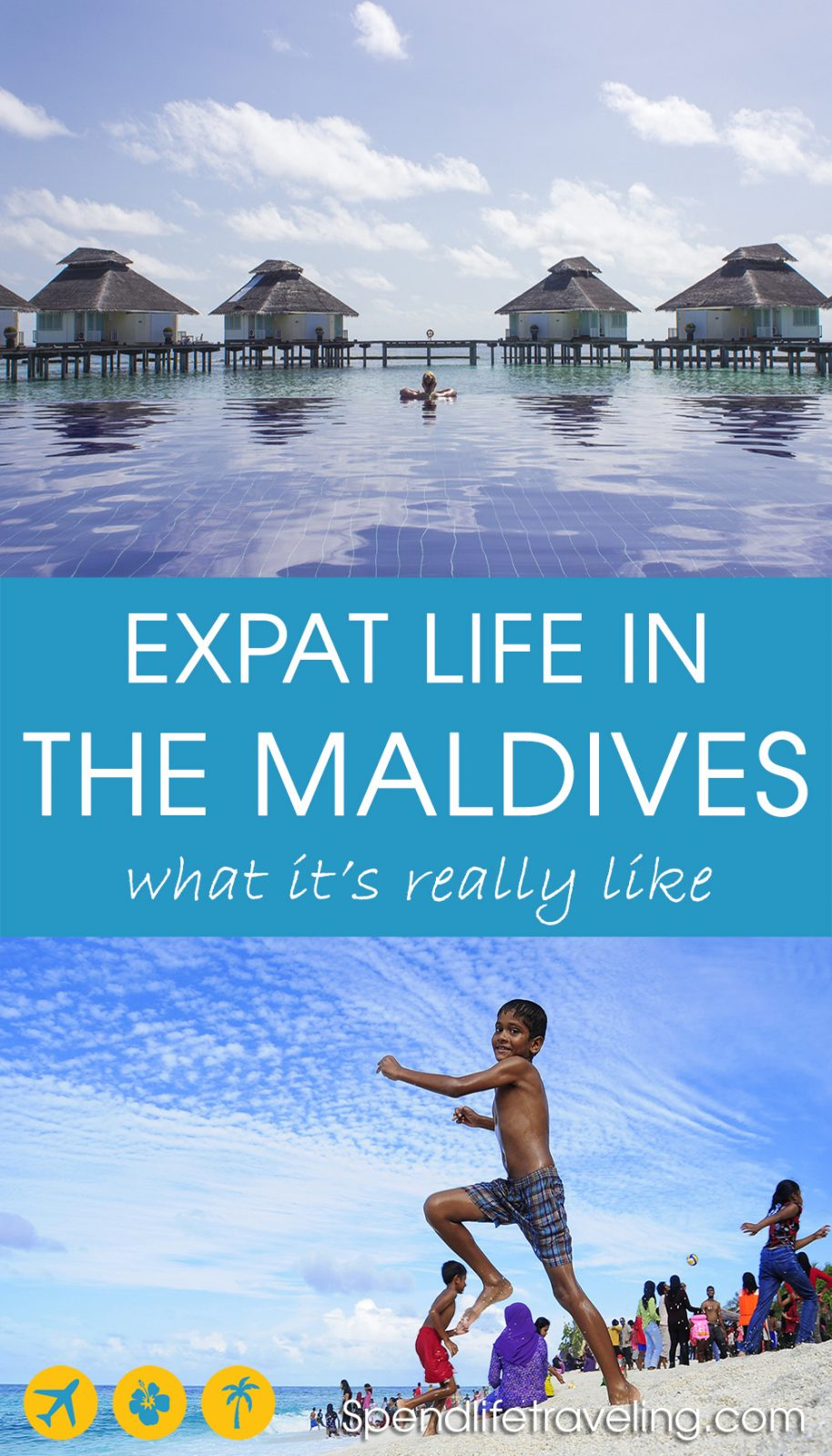 Interview with an expat about living in the Maldives. What is it really like to move to a place seen as paradise and a dream destination by so many? But an island nation that is at the same time struggling with corruption and a strict religion... #Maldives #expat #moveabroad #lifeabroad