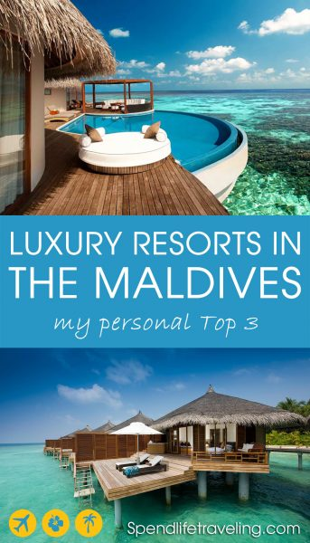 3 of the best luxury resorts in the Maldives. After spending almost a year in the Maldives and visiting numerous resorts, these are my 3 top recommendations. #Maldives #luxurytravel #luxuryresorts