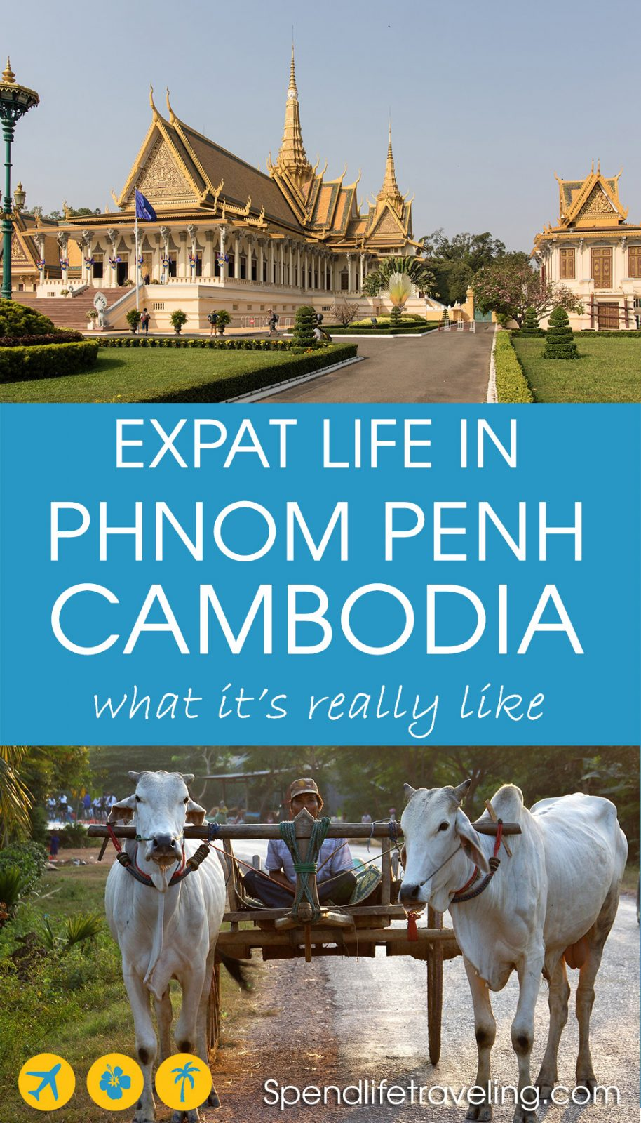 What is Phnom Penh and life in Cambodia really like? Interview with an expat. #PhnomPenh #Cambodiaexpat