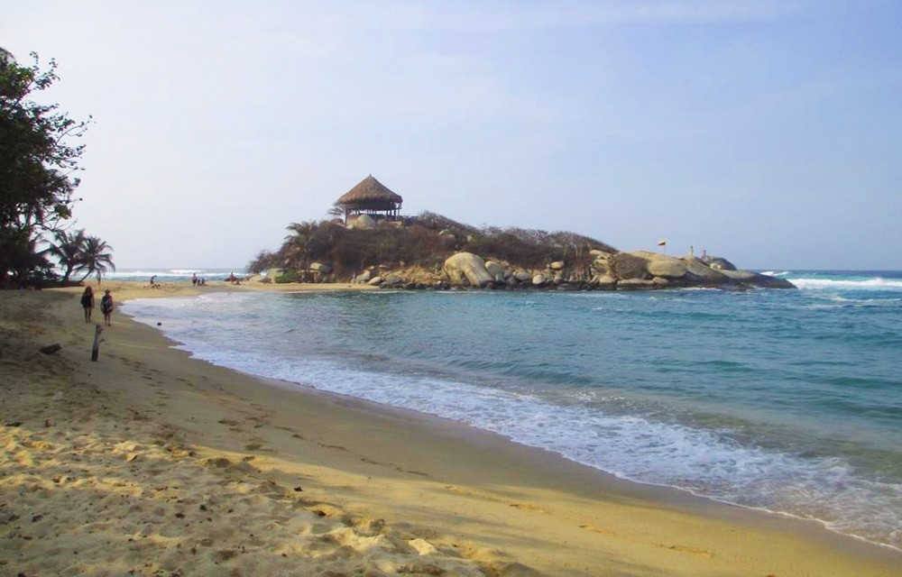 nicest beaches in the world: Colombia's Playa Arrecifes