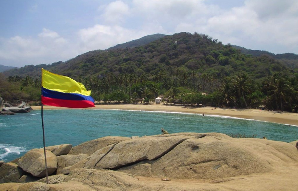 Playa Arrecifes in Colombia