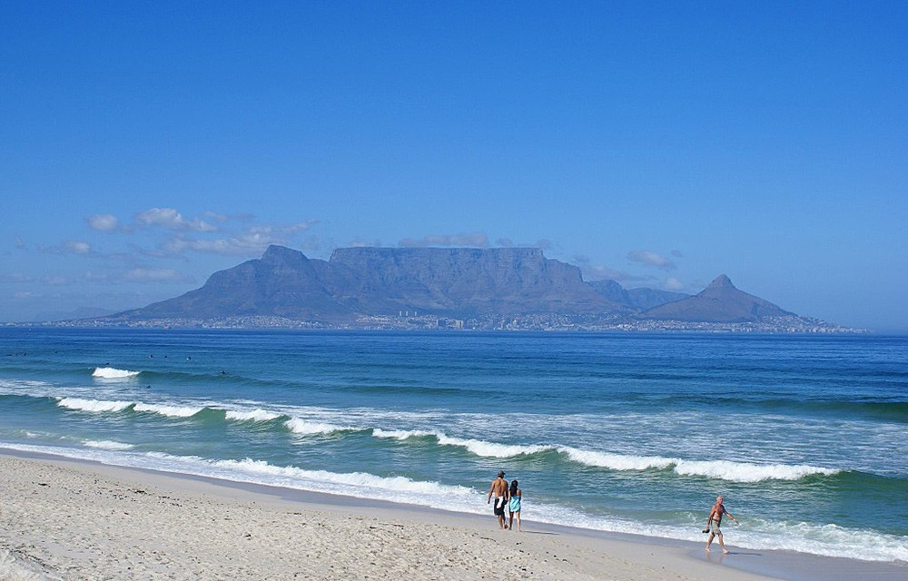 Best beaches in the world: Bloubergstrand, South Africa