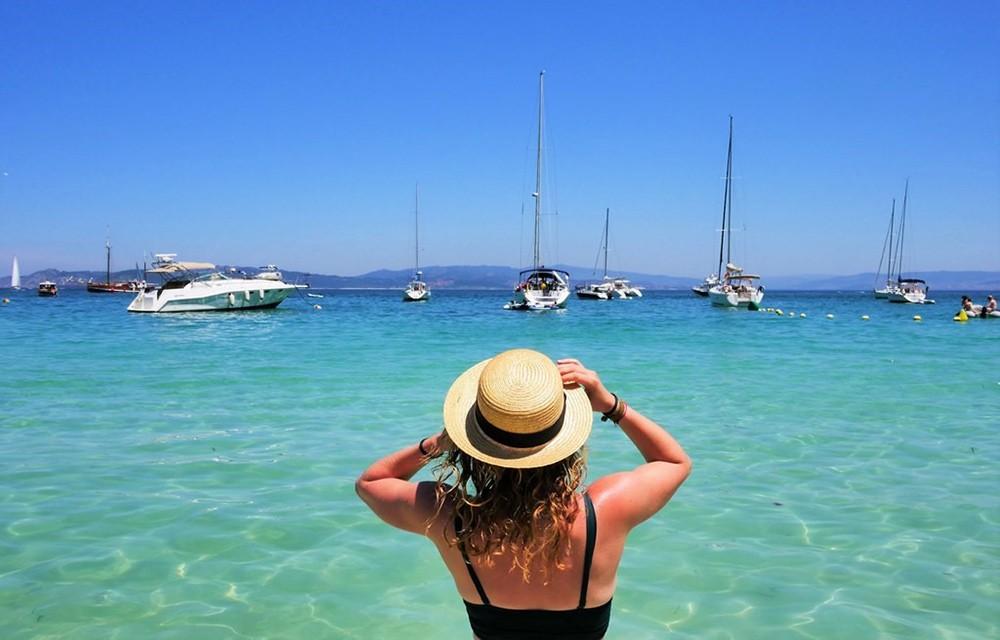 the best beaches in the world: Rodas Beach, Cies Islands, Spain