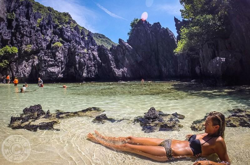 Hidden Beach, El Nido, Palawan