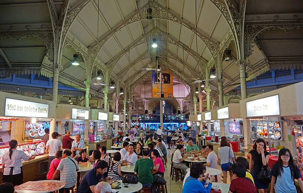 Lau Pa Sat Market - local tips for what to do in Singapore