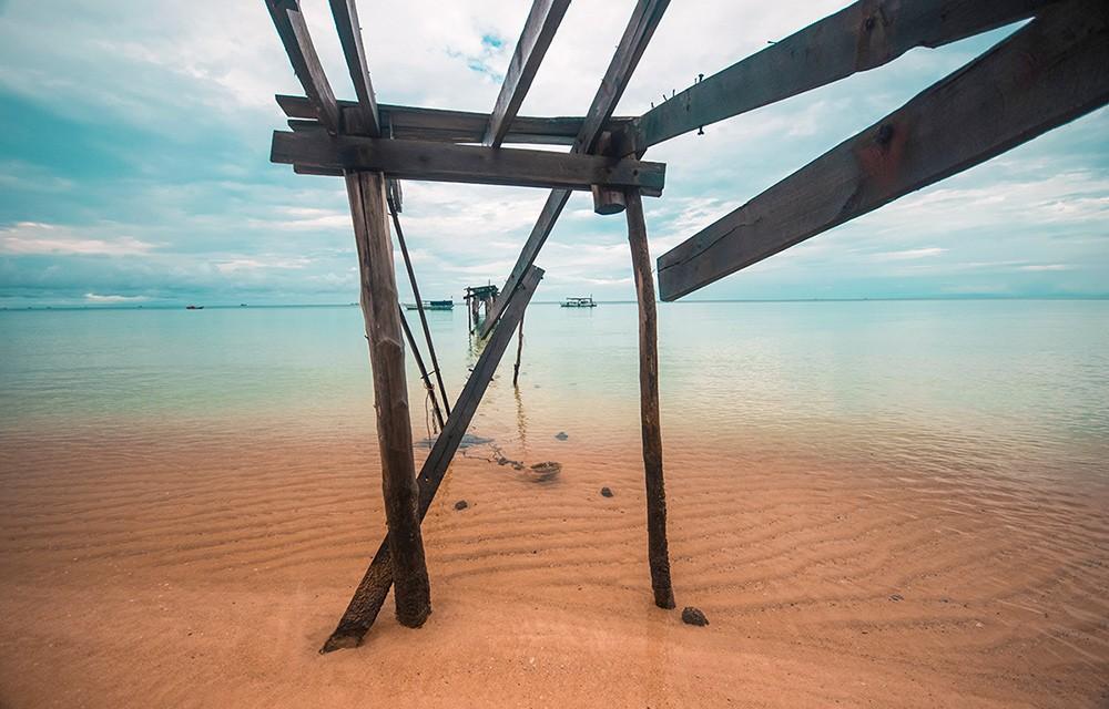 best beaches in the world: Sunset Beach in Cambodia