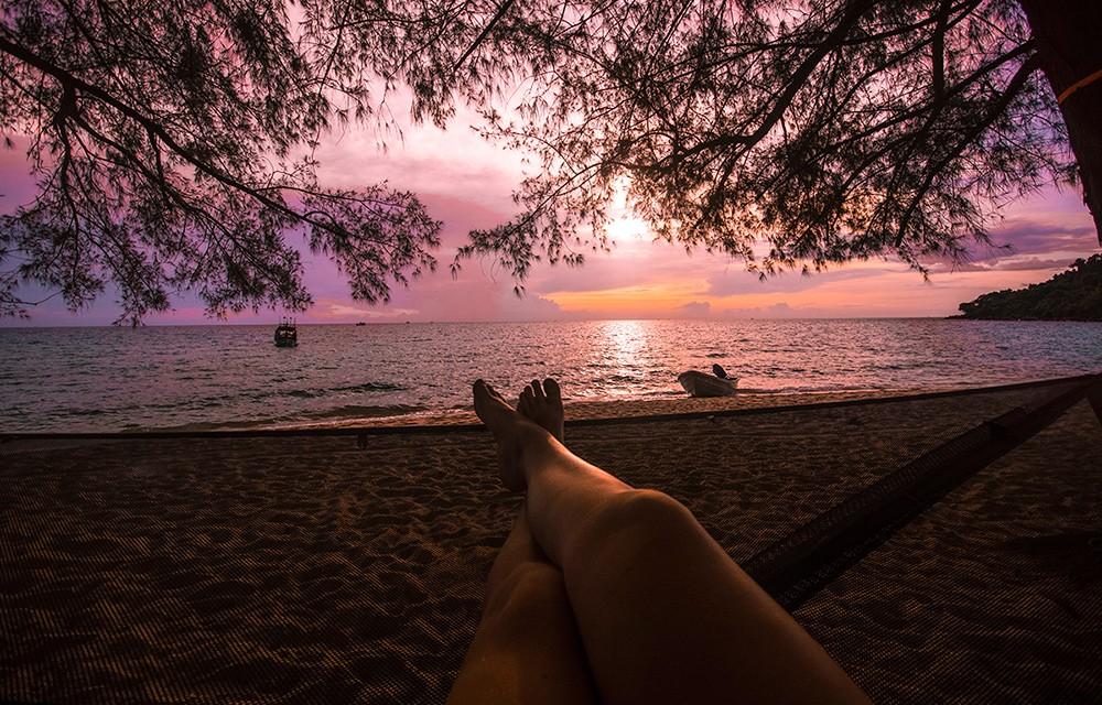 most beautiful beaches in the world: Sunset Beach, Cambodia