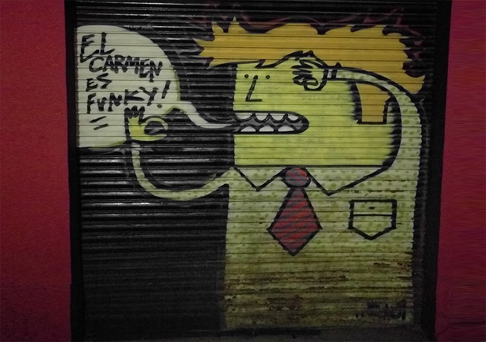What to see in Valencia: street art in El Carmen