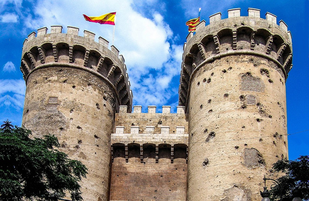 Things to do in Valencia: climb one of the city gates