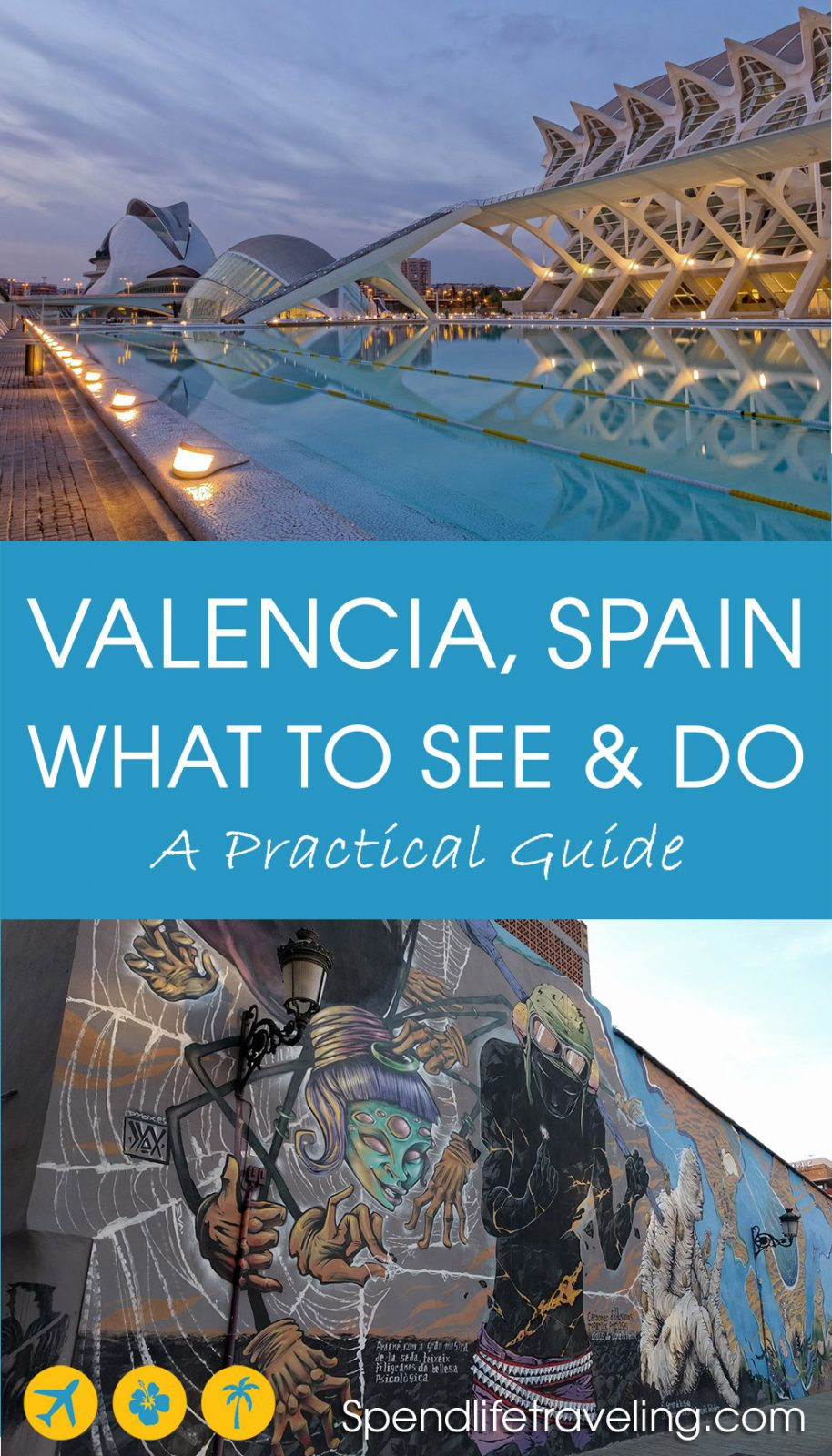 Valencia is a beautiful Mediterranean city and an increasingly popular destination for a city break. This is a practical guide with tips for things to do Valencia, Spain.