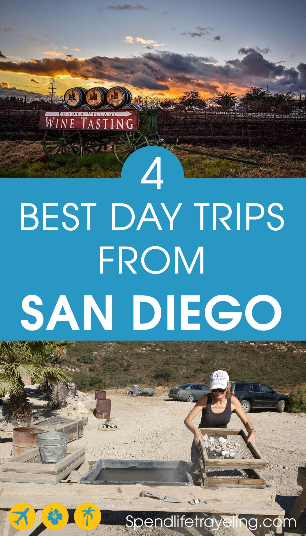 These are some of the best day trips from San Diego, California. Plus recommendations for weekend trips from San Diego.