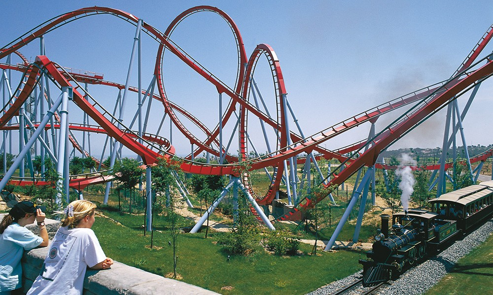 The best family vacation in Spain on the on the Costa Dorada, - theme parks