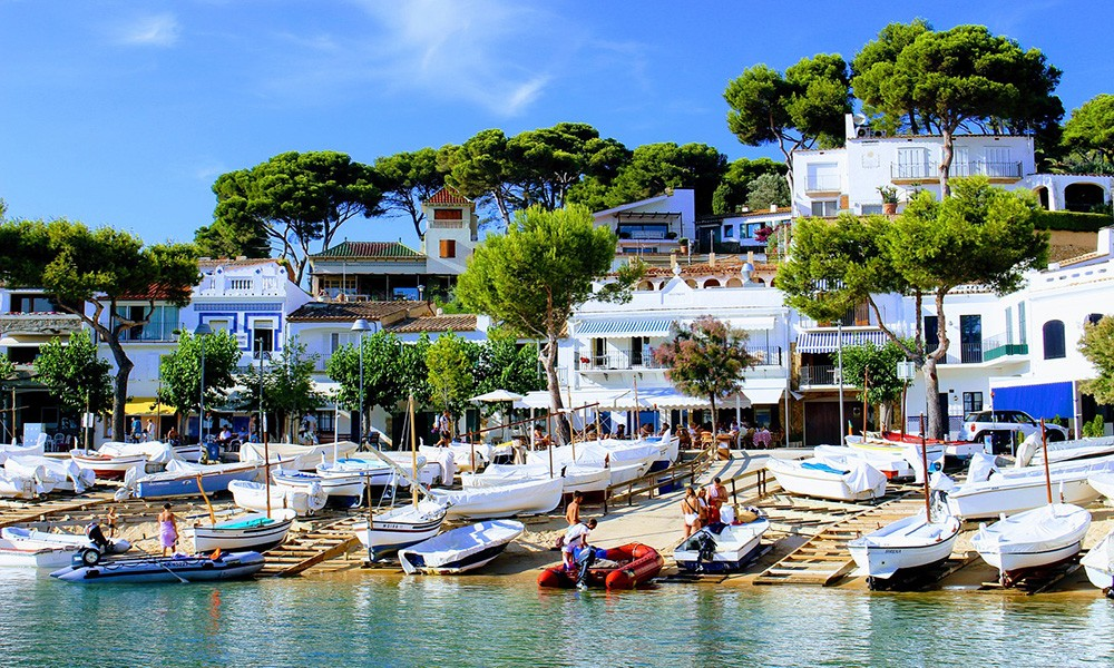 family trip to Spain on the Costa Brava
