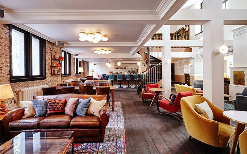 Best places for working remotely in Amsterdam: Hoxton hotel