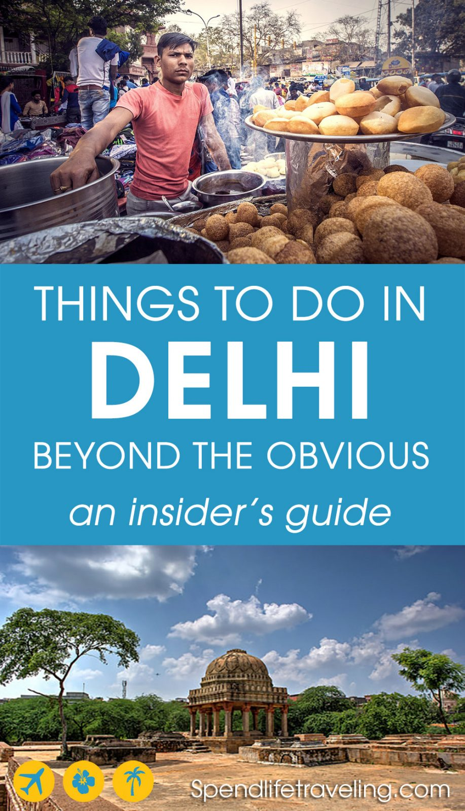 Are you traveling to Delhi, India? Check out this insider's travel guide with tips on what to see and do in Delhi beyond the obvious tourist attractions you find in every travel guide.