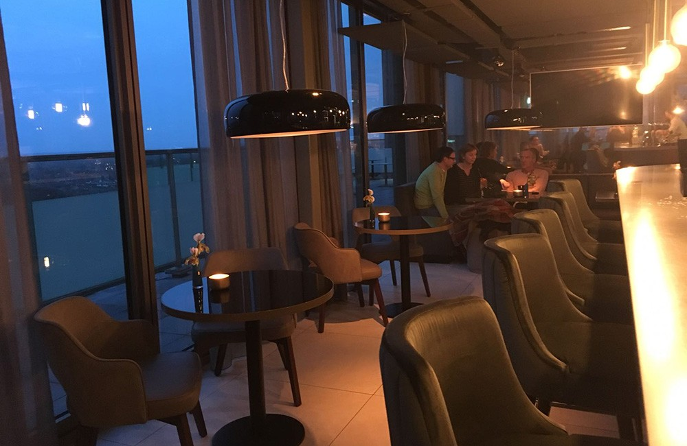 things to do in Eindhoven: visit a rooftop bar