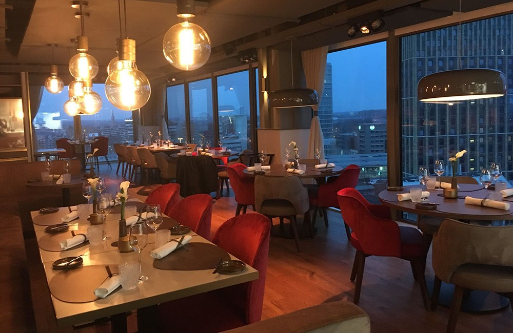 what to see in Eindhoven: Vane Restaurant & Skybar