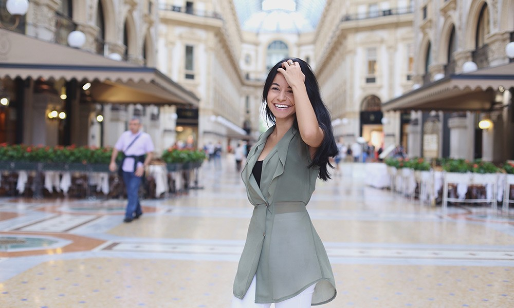 an expat in Milan, Italy