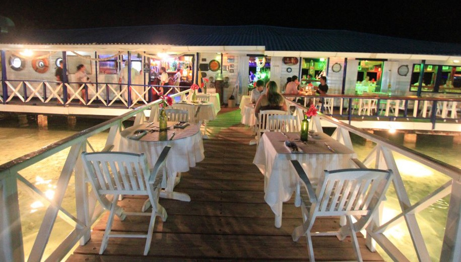 Best restaurant in San Andres, Colombia