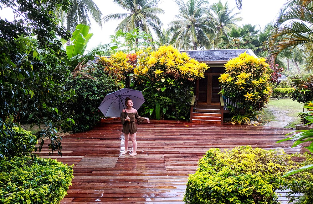rain in Fiji