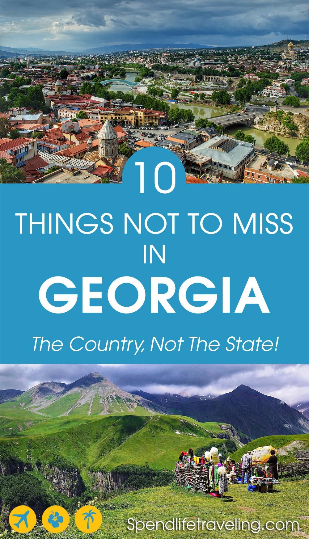 Things to do in Georgia Europe