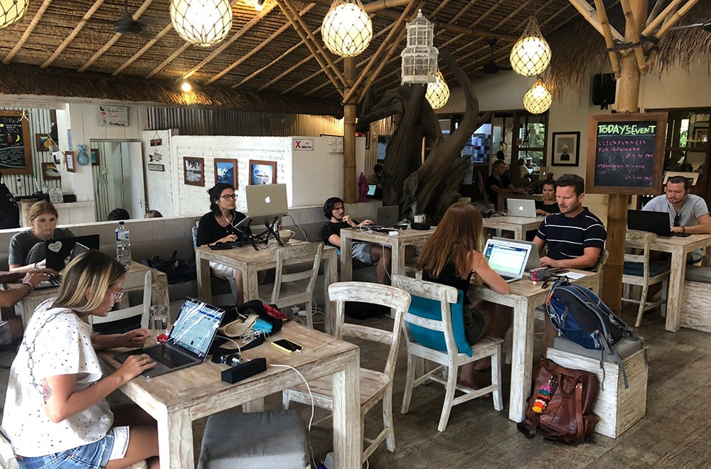 digital nomad skills in Bali
