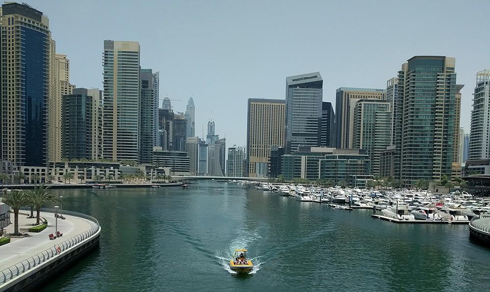 things to see in Dubai: Dubai Marina