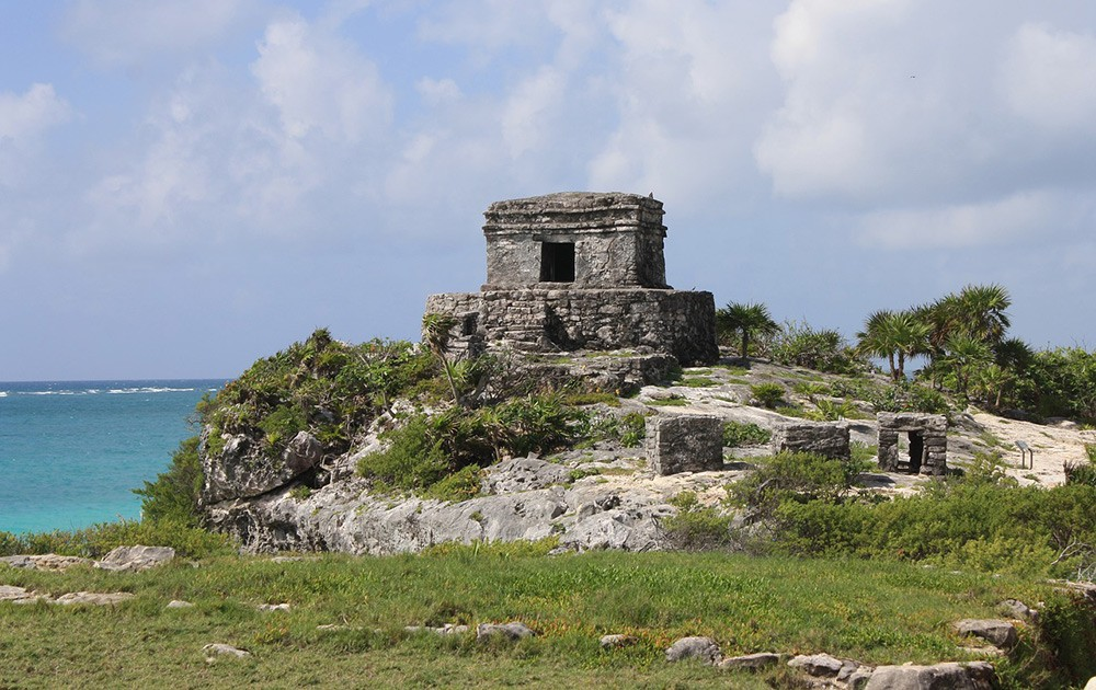 Tulum, one of the best day trips from Playa Del Carmen