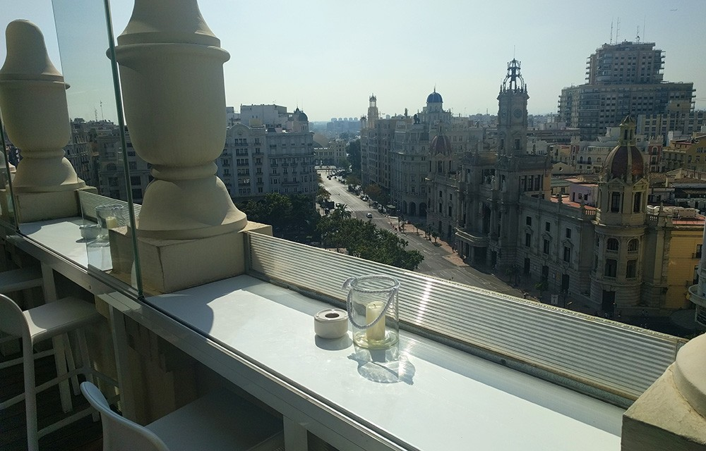 Best rooftop bar in Valencia: Atico Ateneo